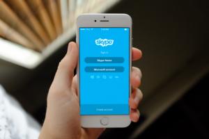 Skype на смартфоне