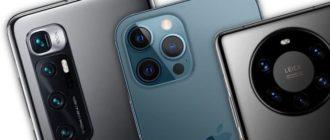 ТОП-12 телефонов с хорошей камерой 2021 года